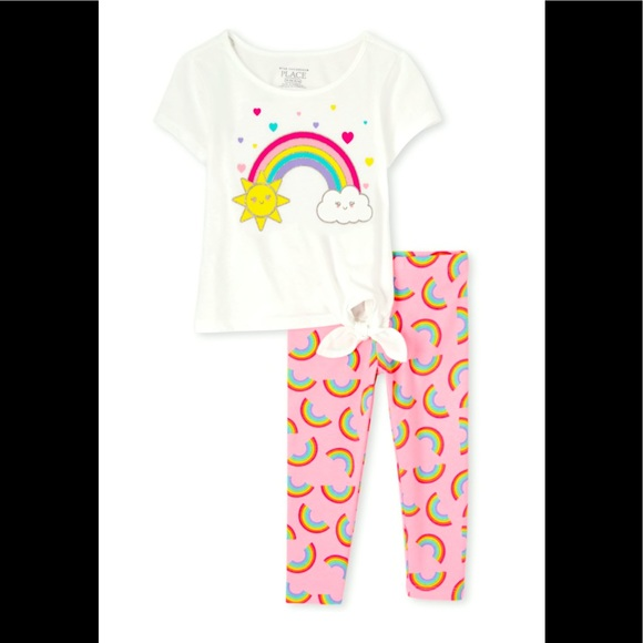 NWT 2 piece set Rainbow Set